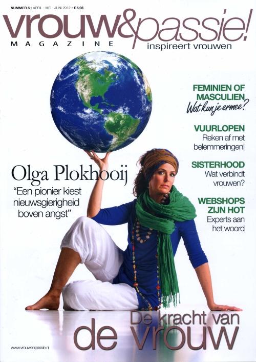 vrouw & passie april 2012 cover