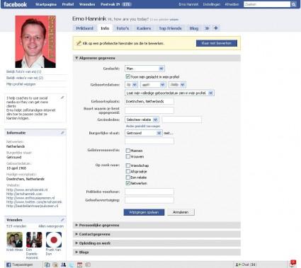 facebook-profiel-algemene-gegevens