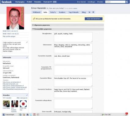 facebook-profiel-persoonlijke-gegevens