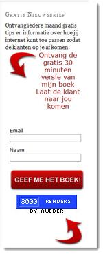 3.000 abonnees op nieuwsbrief ernohannink.nl