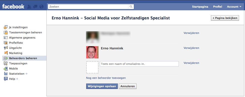 facebook statistieken eigen profiel