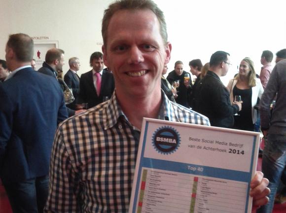 ernohannink beste social media bedrijf No.2 prijs