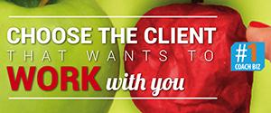 Luister naar hoe je de klant kiest #1CoachBiz podcast
