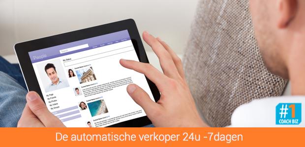 automatische verkoper website