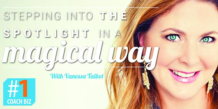 magische manier schijnwerper Vanessa Talbot
