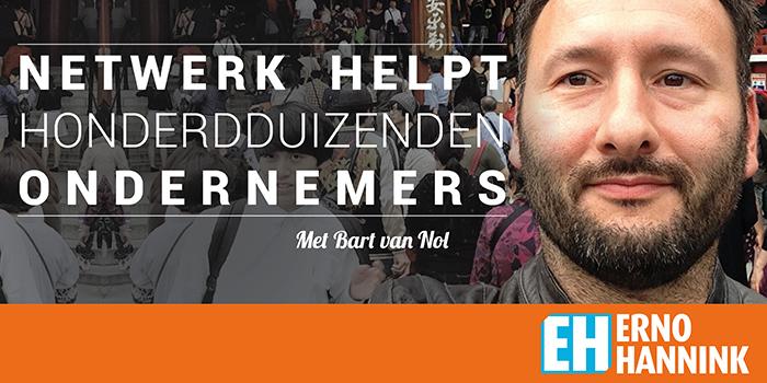 honderduizenden ondernemers netwerk helpt Bart van Nol