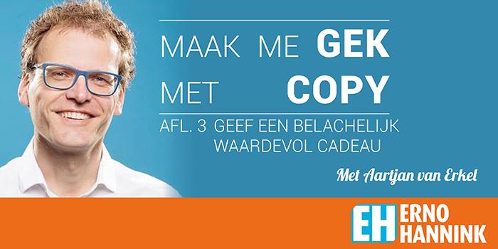 Aartjan van Erkel copywriting