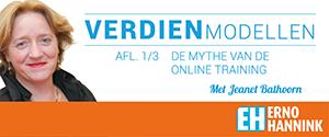 De mythe van de online training – Jeanet Bathoorn – Verdienmodellen 1/3