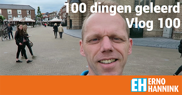 vlog dagelijks 100